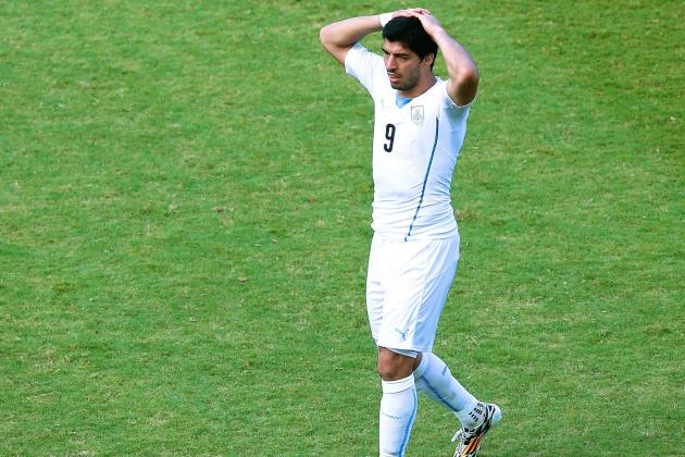 Luis Suarez's History Is One of Troubled Mind and Troubled Actions