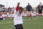 7-Year-Old Boogies After TD Pass from Kaepernick