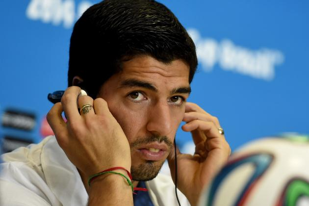 Suarez Given Armed Guard at Uruguay Hotel as Biting Controversy Grows