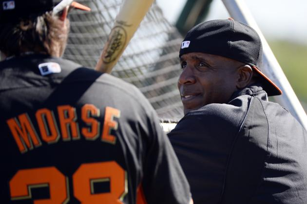 Giants' Morse Takes Batting Tip from Fan: Barry Bonds