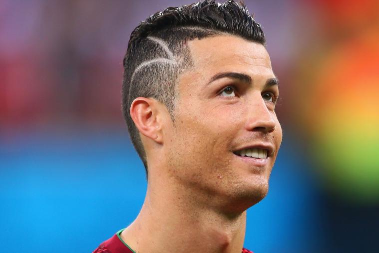 Cristiano Ronaldo Changes Hairstyle and Wears Mohawk at 2014 World Cup ...