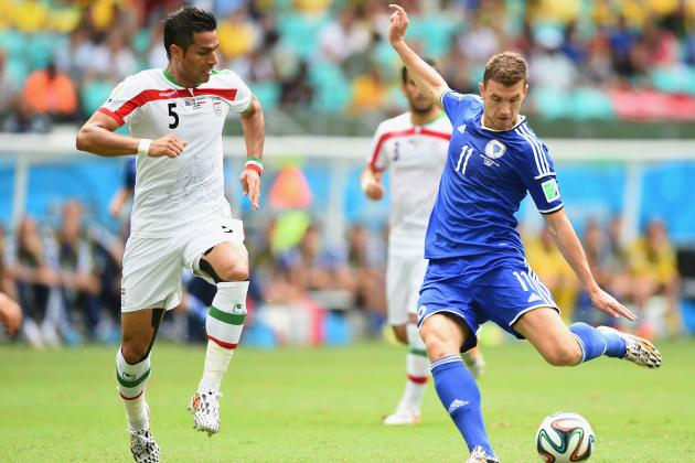 Bosnia-Herzegovina vs. Iran: World Cup Group F Score, Grades and Reaction