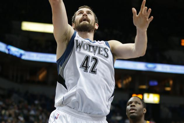 Report: Cavs Talked No. 1 for Kevin Love, He Wouldn't Commit to Re-Sign