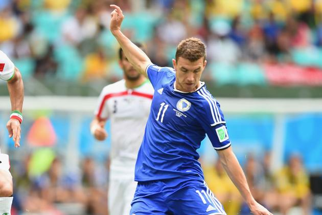 Bosnia 3-1 Iran: Edin Dzeko Finds the Net to End World Cup on a High