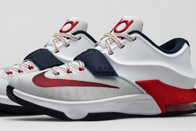 Nike to Release New Red, White and Blue 'July 4th' Edition KD7 Shoes
