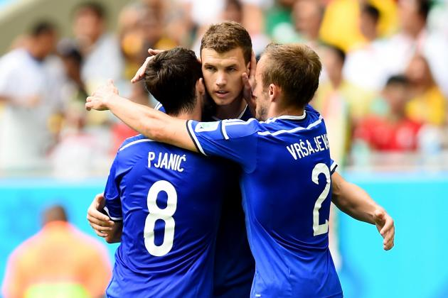 Bosnia Herzegovina vs. Iran: Dzeko & Besic Crack Queiroz's Stubborn Defence