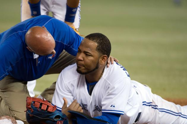 Toronto Blue Jays' Encarnacion Insists He Feels 'great, 100%' After Collision