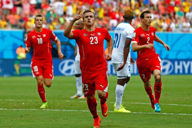 Twitter Reacts to Xherdan Shaqiri's Performance vs. Honduras