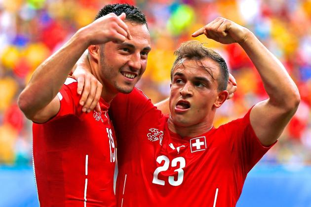 Honduras vs. Switzerland: World Cup Group E Score, Grades and Reaction