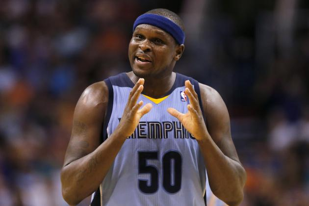 Zach Randolph Extension Key to Memphis Grizzlies Cementing Future