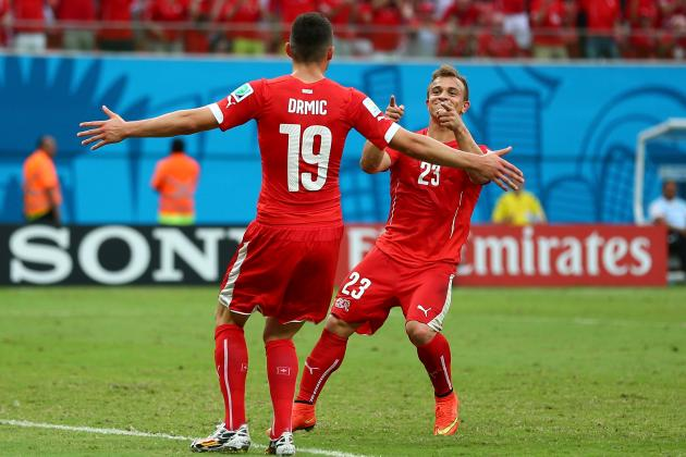 Honduras vs. Switzerland: Shaqiri & Drmic Link in Counterattacking Display