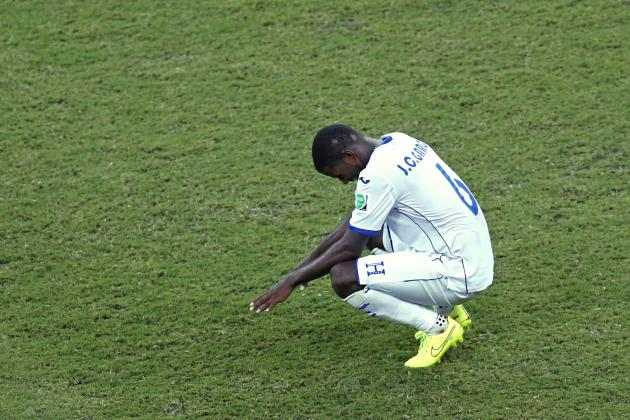 Loss to Switzerland Highlights Honduras' Shortcomings at World Cup