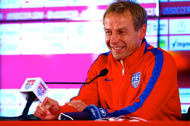 Win, Lose or Draw vs. Germany, Jurgen Klinsmann Has Proven His World Cup Worth