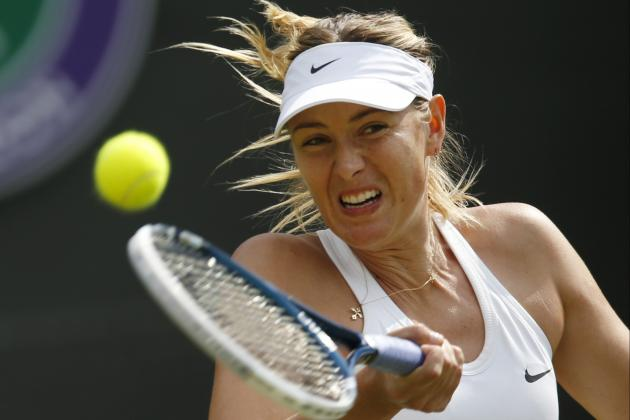 Maria Sharapova Won't Be Tested at Wimbledon Until Looming Serena Williams Match