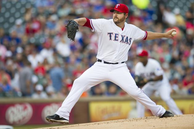 Rangers Drop Seventh Straight as Saunders Struggles in 8-6 Loss to Tigers