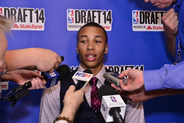 Dante Exum Will Be Top-3 Pick in 2014 NBA Draft After Joel Embiid's Foot Injury