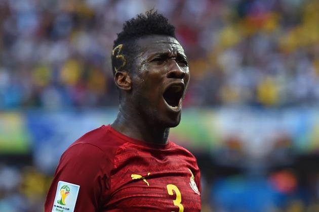 World Cup 2014: The Curious Case of Ghana's Asamoah Gyan