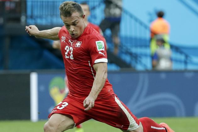 Liverpool Transfer News: Xherdan Shaqiri's Agent Reportedly in England for Talks