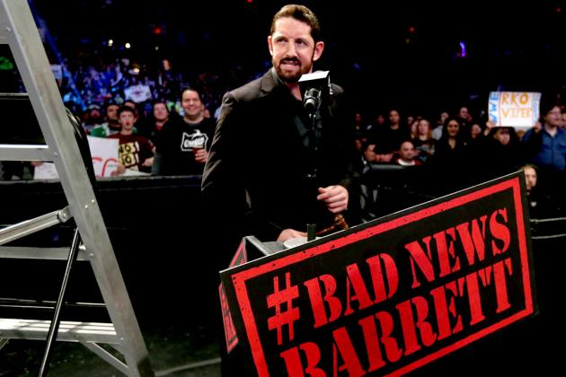 Roman Reigns, Bad News Barrett, Stardust and the Generic Theme Music Mailbag