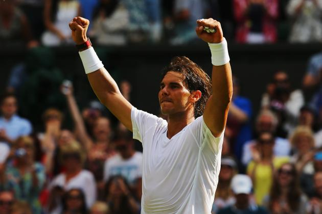 Rafael Nadal vs. Lukas Rosol: Score and Recap from 2014 Wimbledon