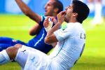 Chiellini Calls Suarez Ban 'Excessive'