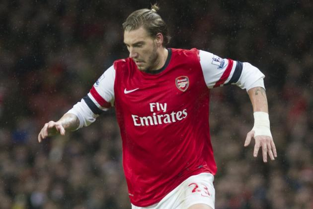 Arsenal Transfer News: Nicklas Bendtner Named Among 11 Players to Exit Club
