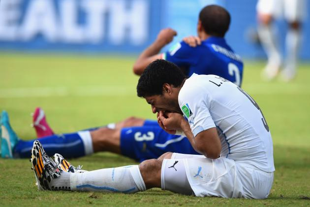 What 4-Month FIFA Ban Means for Luis Suarez, Uruguay's World Cup, Liverpool