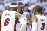 Report: Heat's Big 3 Meet to Discuss Their Future
