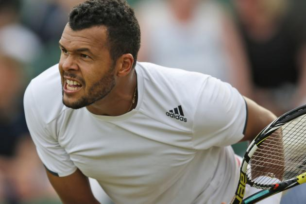 Result:  Tsonga Comes Through Five-Setter