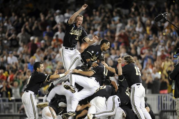 College World Series 2014: Biggest Winners from Vanderbilt vs. Virginia Battle