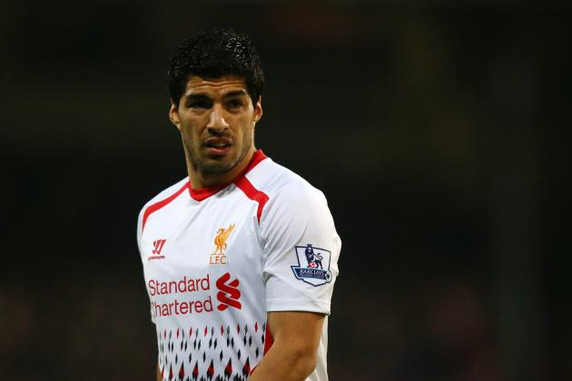 Luis Suarez's Adidas Deal Hangs in the Balance Until After World Cup