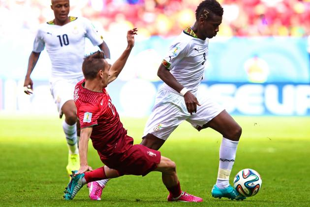 Portugal vs. Ghana: Live Score, Highlights for World Cup 2014 Group G Game