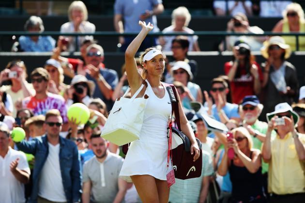 Maria Sharapova vs. Timea Bacsinszky: Score and Recap from 2014 Wimbledon