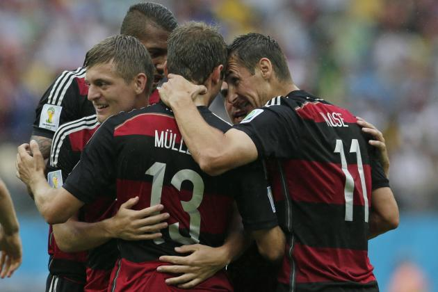 USA vs. Germany: Miroslav Klose Proves Effective Plan B for Joachim Low
