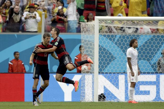 Twitter Reacts to Thomas Muller, Miroslav Klose's Performances vs. USA