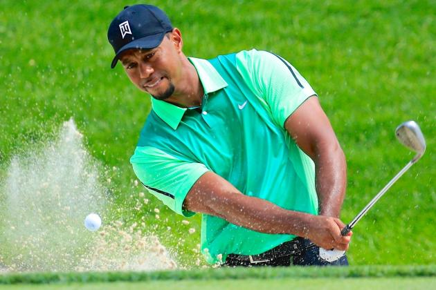 Tiger Woods at Quicken Loans National 2014: Day 1 Leaderboard Score and Reaction