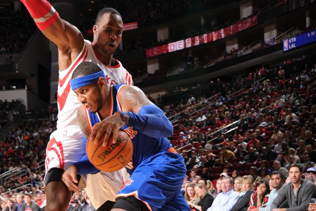 Are Houston Rockets Now the Leaders to Sign Carmelo Anthony in Free Agency?