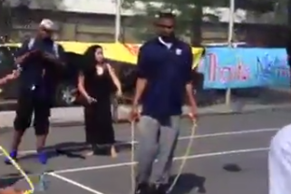Video: Andrew Wiggins Is Horrible at Jumping Rope