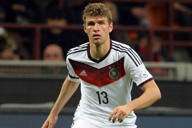 Müller Scores Only Goal in Germany's 1-0 Win over United States