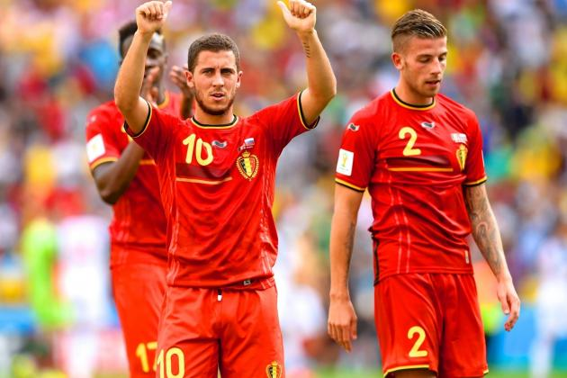 South Korea vs. Belgium: Live Score, Highlights for World Cup 2014 Group H Game