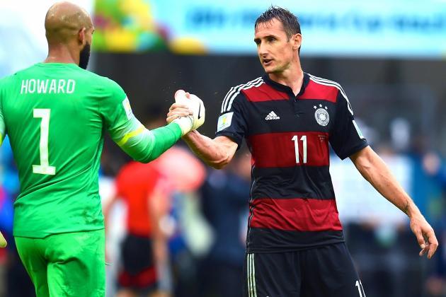 USA vs. Germany: Miroslav Klose Proves Effective Plan B for Joachim Low