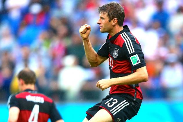 Thomas Muller's Goals Prove Decisive in Germany Finishing Top of Group G