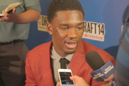 Video: Noah Vonleh at NBA Draft Media Day: Inside the Hall