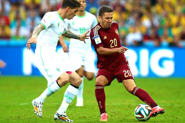 Algeria vs. Russia: Live Score, Highlights for World Cup 2014 Group H Game