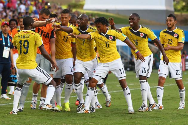 Colombia vs. Uruguay: Form Guide, Live Stream and Prediction for 2014 World Cup