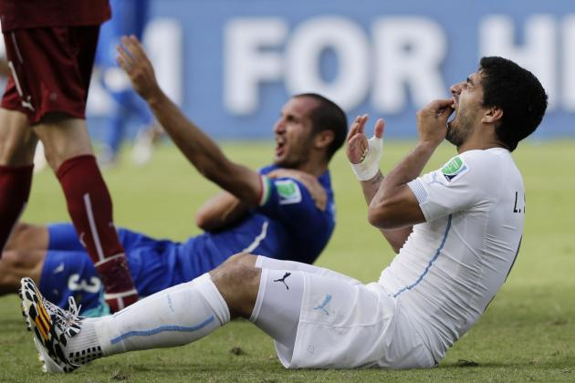 Luis Suarez Trial Will Motivate Uruguay Against Colombia in the FIFA World Cup