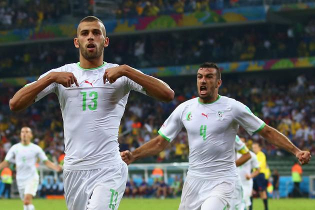 Algeria vs. Russia: Live Player Ratings