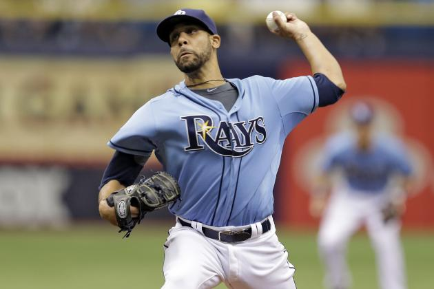 Rays' David Price Records 5 Straight Double-Digit Strikeout Games