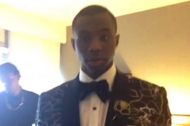 Andrew Wiggins Rocks Floral Suit for NBA Draft, Is Above Our Fashion Laws