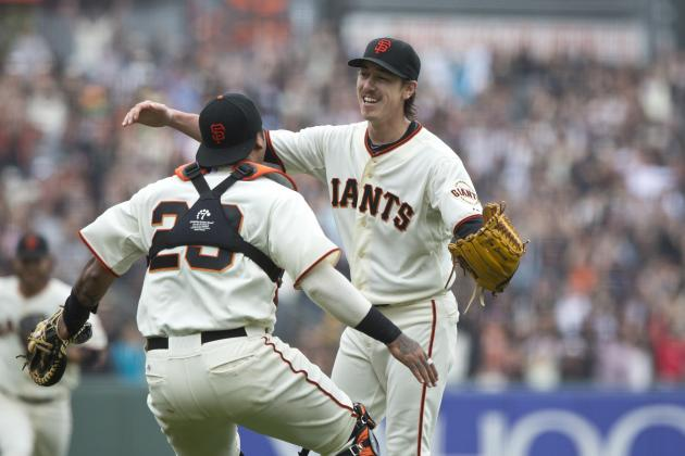 Giants' Tim Lincecum Becomes 2nd Pitcher with 2 No-Hitters Against Same Opponent